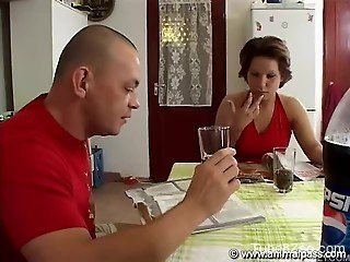 Amateur woman sucking dog inches and fucking hard