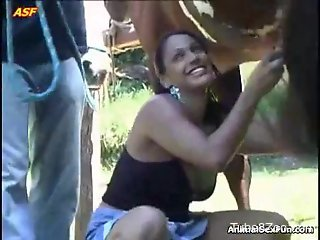Lustful Latina asks this dude to blow his stallion